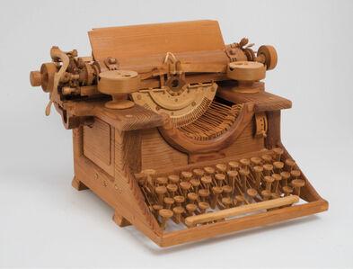 Fumio Yoshimura, 'Alger Hiss' Woodstock Typewriter', ca. 1970