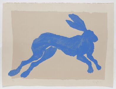 Sophie Ryder, 'Blue Hare', 1989
