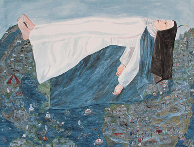 Jennifer May Reiland, 'Maria of Agreda, Being a Treatise on the Miraculous Appearance of a Nun of Castilla in the Heavens Above Our Dominions in New Spain', 2019