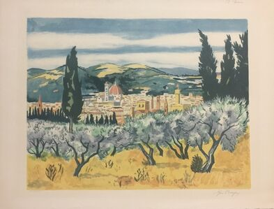 Yves Brayer, 'Vue de Florence', 20th Century
