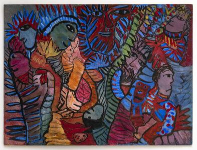Janet Sobel, 'Untitled', ca. 1943-48