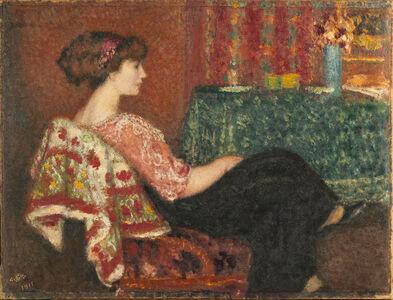 Georges Lemmen, 'Madame Lemmen au salon, 1911'
