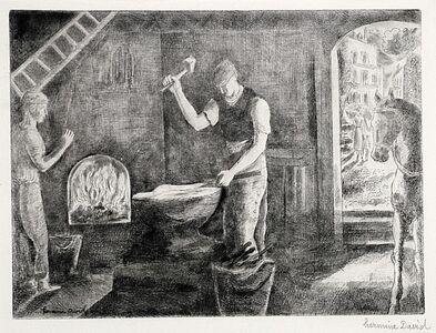 Hermine David, 'Marechal Ferrant (The Blacksmith)', ca. 1921