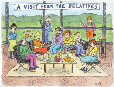 Roz Chast, ' A Visit From The Relatives', 2013