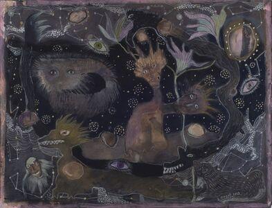 Solange Knopf, 'Behind the Darkness II', 2013