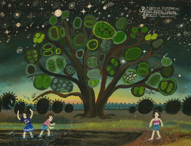 Esther Pearl Watson, 'Under the dancing tree', 2017