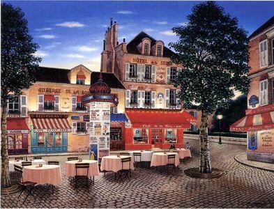 Liudmila Kondakova, 'Hotel de la Seine', 1997