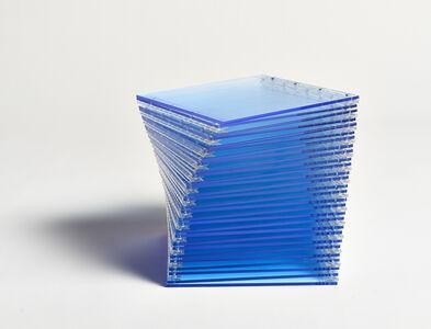 Marta Chilindron, 'Cube 12 (Blue)', 2009