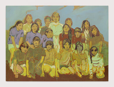 Claire Tabouret, 'The Soccer Team', 2019