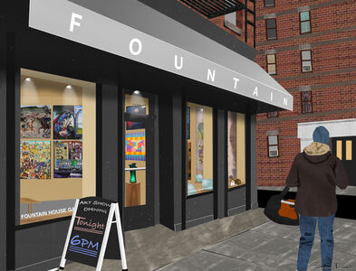 Susan Baus, 'Fountain House Gallery 2020', 2020