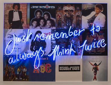Steve Kemsley, 'Michael Jackson', 2016