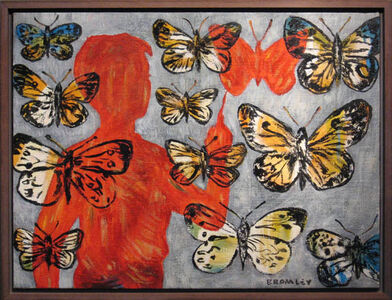 David Bromley, 'Butterflies'
