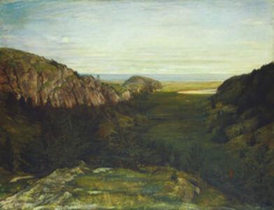 John La Farge, 'The Last Valley - Paradise Rocks', 1867-1868