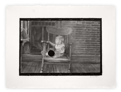 """Joel Daniel Phillips, 'Kill Negative #9 / After Ben Shahn [Archive Text: """"Untitled Photo, Possibly Related to: Family on Relief, Lancaster, Ohio""""]', 2020"""