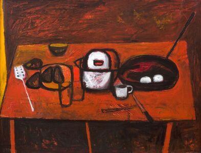 William Scott (1913-1989), 'Table Still Life ', 1955