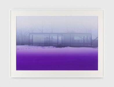 James Welling, 'Lavender Mist', 2014