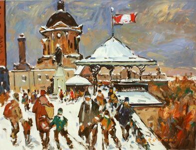 Serge Brunoni, 'Québec, Dufferin Terrace', 2016