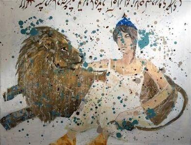 Mohsen Jamalinik, 'Noosh Afarin and Tail of Lion',  2019