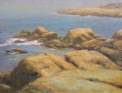 Pamela Pindell, 'Rock and Water, Rockport, MA', 2017