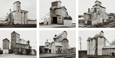 Bernd and Hilla Becher, 'Grain Elevators', 1986