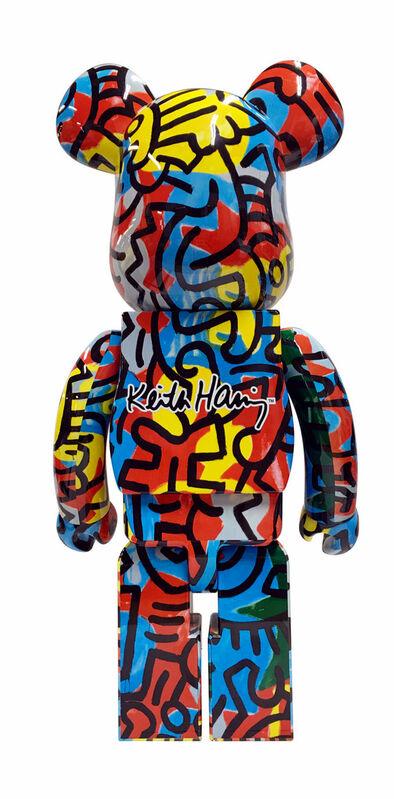 Keith Haring, 'Keith Haring Bearbrick 1000% Companion (Haring DesignerCon BE@RBRICK)', ca. 2017, Ephemera or Merchandise, Vinyl cast resin figurine, Lot 180