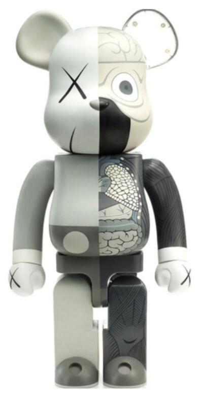 KAWS, 'KAWS DISSECTED COMPANION: 100% BE@RBRICK GREY', 2010, Sculpture, Vinyl, Marcel Katz Art
