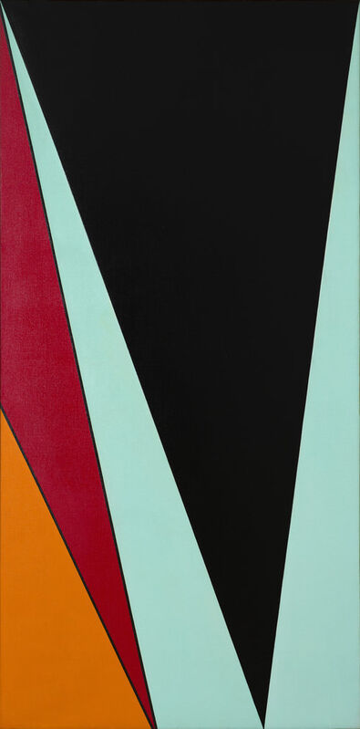 Olle Baertling, 'Oga', 1960, Painting, Oil on canvas, CFHILL