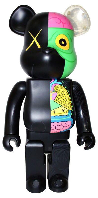 KAWS, 'KAWS DISSECTED COMPANION: 1000% BE@RBRICK BLACK', 2009, Sculpture, Vinyl, Marcel Katz Art