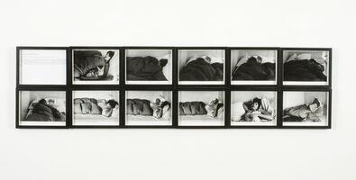 Sophie Calle, 'The Sleepers (Gennie Michelet, thirteenth sleeper)', 1980