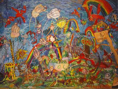 Jenny Toth, 'Knights and Rainbows'