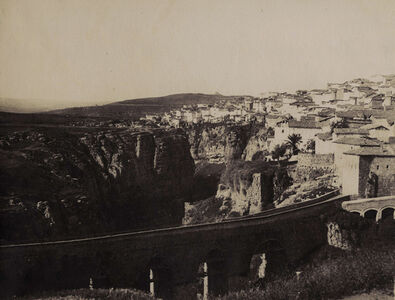 John Beasley Greene, 'Aqueduct with Constantine, Algeria, in the Distance', 1855-56/1856c