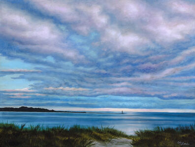 CJ Lori, 'Across the Cove, Wellfleet', 2017