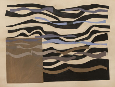 Margo Hoff, 'Slow Waves', 1965-1975