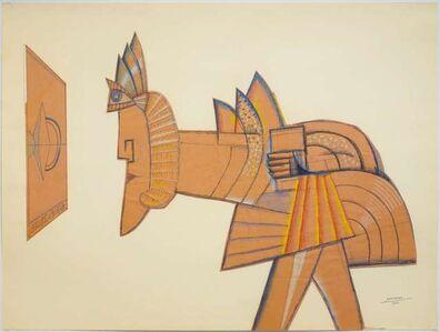 Saul Steinberg, 'Sphinx II', 1966