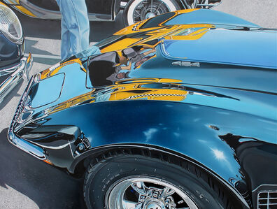 Cheryl Kelley, 'Corvette with Big Yellow Taxi', 2013