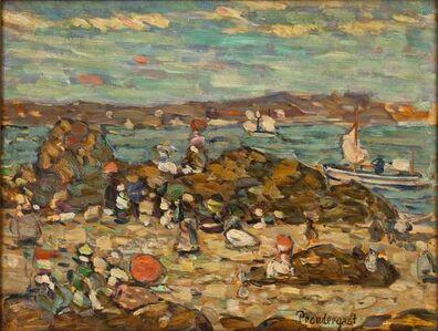 Maurice Brazil Prendergast, 'Studies St. Malo, No. 27', ca. 1907