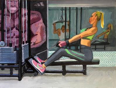 Anna Lukashevsky, 'At the Gym No. 2', 2018