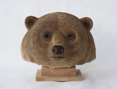 Jean-Marie Fiori, 'Brown Bear's Head', 2005