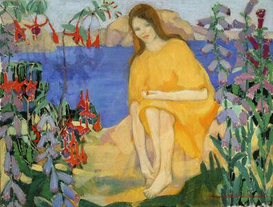 Achsah Barlow Brewster, 'Fuchsias', ca. 1916