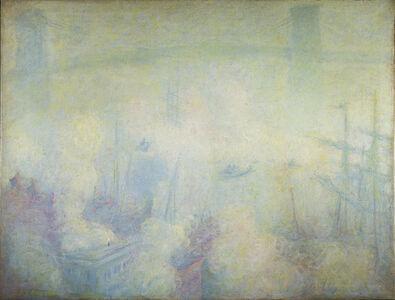 Theodore Earl Butler, 'Brooklyn Bridge, New York', 1900