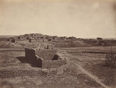 John K. Hillers, 'Zuni Pueblo', 1879