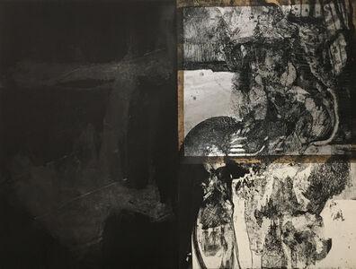Mohammed Omar Khalil, 'Tangled Up in Blue', 1986
