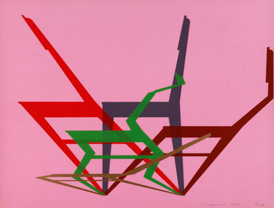 Stefan Wewerka, 'Dynamic Chairs', 1970