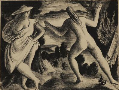 BERNARD MENINSKY, 'Bathers in a Landscape', 1930-1949