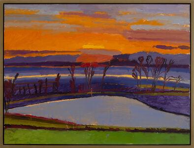 Graham Nickson, 'Ice Pond: Sunset'