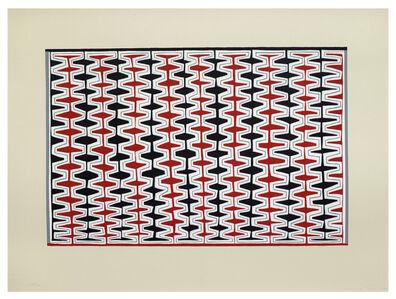 James Siena, 'Double Recursive Combs, Boustrophedonic', 2005