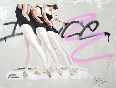Sylvain Lang, 'Graffiteuses', 2016