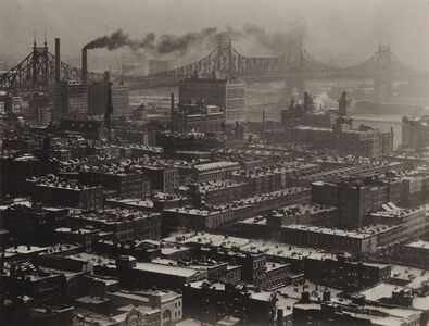 Alfred Stieglitz, 'From 'Room 3003' - The Shelton, New York, Looking Northeast', 1927
