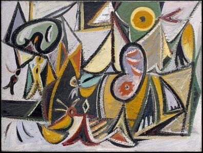 Arshile Gorky, 'Enigmatic Combat', 1936-1937
