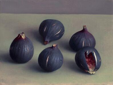 Amy Weiskopf, 'Five Dark Figs', 2015